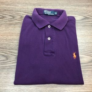 Polo Ralph Lauren Purple Polo Shirt M